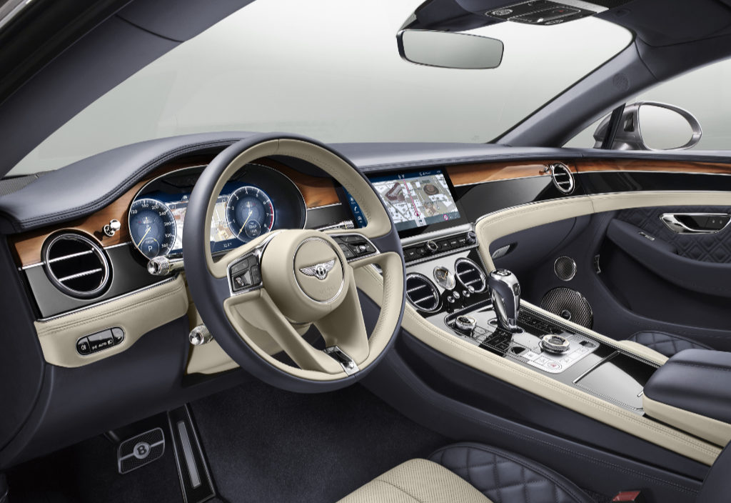 Continental GT interior main image