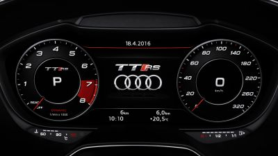 Audi TT RS Virtual Cockpit