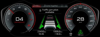 Traffic Jam Pilot Available